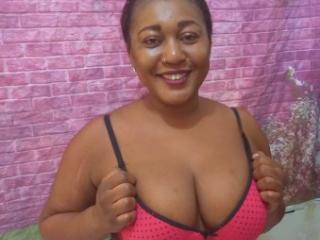Velmi sexy fotografie sexy profilu modelky EbonyFlavor pro live show s webovou kamerou!