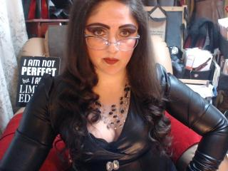 LadyDominaX模特的性感個人頭像,邀請您觀看熱辣勁爆的實時攝像表演!