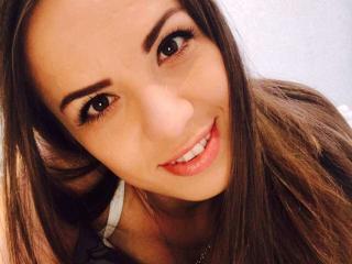 Foto van het sexy profiel van model Abriana, voor een zeer geile live webcam show!