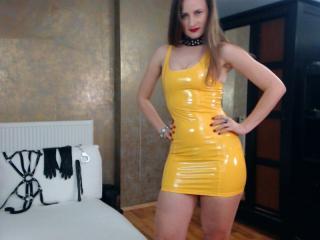 Velmi sexy fotografie sexy profilu modelky AbyX pro live show s webovou kamerou!