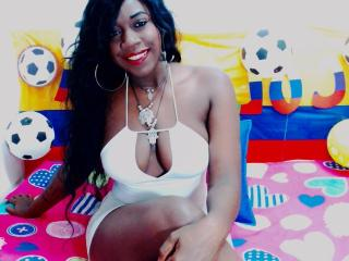 Photo de profil sexy du modèle AmanteLatine69, pour un live show webcam très hot !