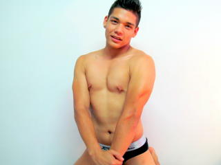 Picture of the sexy profile of AndrewStud, for a very hot webcam live show !