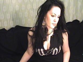Picture of the sexy profile of AnnaDom, for a very hot webcam live show !