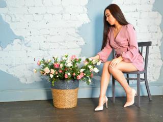 Velmi sexy fotografie sexy profilu modelky AsianTastee pro live show s webovou kamerou!