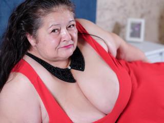 Velmi sexy fotografie sexy profilu modelky BBWLadyForYou pro live show s webovou kamerou!
