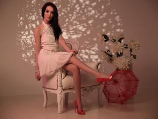 Velmi sexy fotografie sexy profilu modelky BeautieMaya pro live show s webovou kamerou!