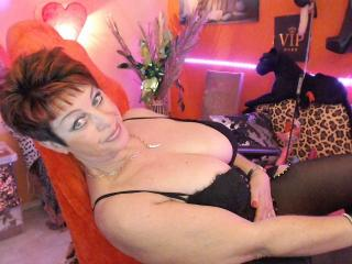 Photo de profil sexy du modèle Bettina, pour un live show webcam très hot !