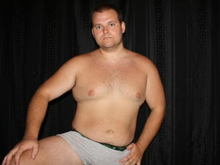Picture of the sexy profile of BigSexyDave, for a very hot webcam live show !