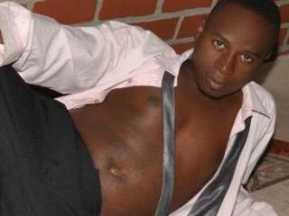 Picture of the sexy profile of BrownieBlack, for a very hot webcam live show !