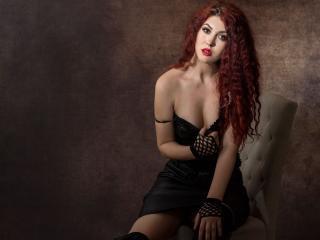 Velmi sexy fotografie sexy profilu modelky ClaraCarole pro live show s webovou kamerou!