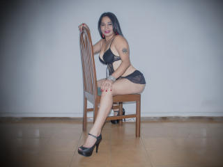 Sexet profilfoto af model CoralineSpicy, til meget hot live show webcam!