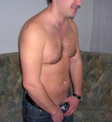 Picture of the sexy profile of Damien, for a very hot webcam live show !