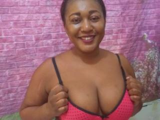 Photo de profil sexy du modèle EbonyFlavor, pour un live show webcam très hot !
