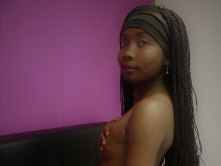 Picture of the sexy profile of EbonyLiliX, for a very hot webcam live show !
