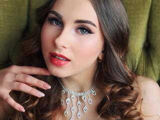 Sexet profilfoto af model EliSeBrook, til meget hot live show webcam!