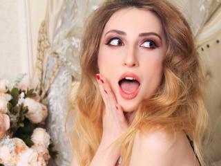 Velmi sexy fotografie sexy profilu modelky EvaVenus pro live show s webovou kamerou!