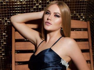Velmi sexy fotografie sexy profilu modelky HarperG pro live show s webovou kamerou!