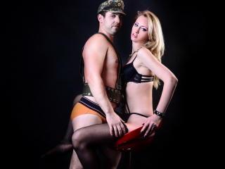 Velmi sexy fotografie sexy profilu modelky HotFockers pro live show s webovou kamerou!
