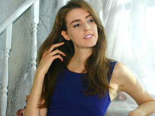 Picture of the sexy profile of Iridescent, for a very hot webcam live show !