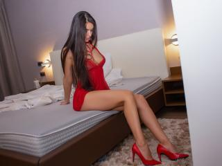 Photo de profil sexy du modèle KatherineBisou, pour un live show webcam très hot !