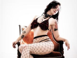 Velmi sexy fotografie sexy profilu modelky KatXLatina pro live show s webovou kamerou!