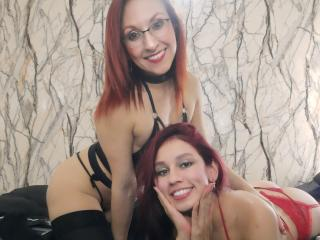 LatinasBi - Web cam hot with this lanky Girl crush