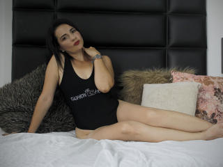 Photo de profil sexy du modèle MadameRochy, pour un live show webcam très hot !