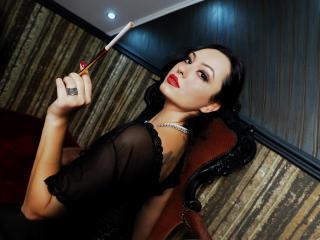 Photo de profil sexy du modèle MaitresseKarlaSin, pour un live show webcam très hot !