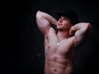 Picture of the sexy profile of MaximusHeat, for a very hot webcam live show !