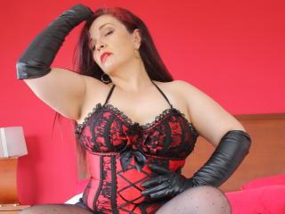 Velmi sexy fotografie sexy profilu modelky MelieFireDoll pro live show s webovou kamerou!