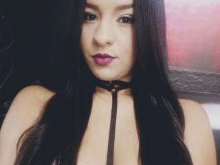 Sexet profilfoto af model NahomiJoy, til meget hot live show webcam!
