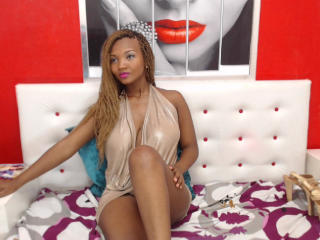 Sexy profilbilde av modellen  NalaBrown, for et veldig hett live webcam-show!
