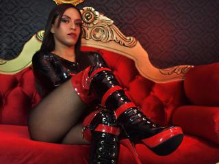 Velmi sexy fotografie sexy profilu modelky NaughtyKittyDD pro live show s webovou kamerou!