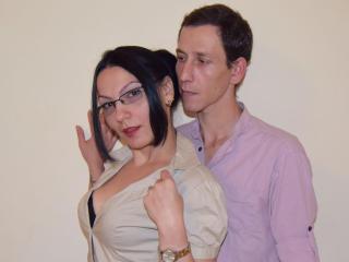 Sexy profilbilde av modellen  OhNaughtyCouple, for et veldig hett live webcam-show!