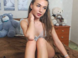 Photo de profil sexy du modèle PaulinaL, pour un live show webcam très hot !