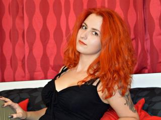 Photo de profil sexy du modèle RaspberrySky, pour un live show webcam très hot !