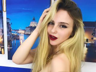 Picture of the sexy profile of SashaKissQ, for a very hot webcam live show !