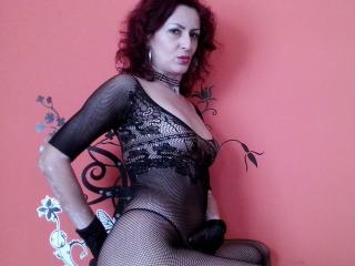 Picture of the sexy profile of SexyMilfX, for a very hot webcam live show !
