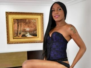 Photo de profil sexy du modèle SheaTS, pour un live show webcam très hot !