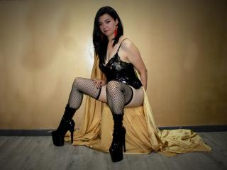 Sexy profilbilde av modellen  SimoneFetish, for et veldig hett live webcam-show!