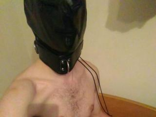 Picture of the sexy profile of Slinger, for a very hot webcam live show !