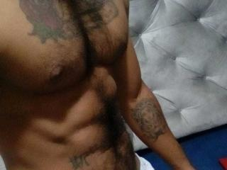 Picture of the sexy profile of TomLatinoHot, for a very hot webcam live show !