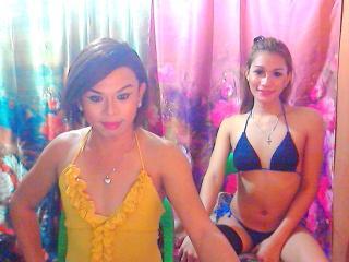 Hình ảnh đại diện sexy của người mẫu TsAngelAndJasmin để phục vụ một show webcam trực tuyến vô cùng nóng bỏng!
