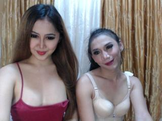 Sexet profilfoto af model TSCharismaCouples, til meget hot live show webcam!