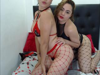 Picture of the sexy profile of TwoExplosiveLatinas, for a very hot webcam live show !