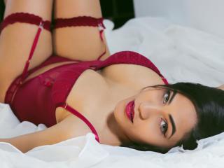 Velmi sexy fotografie sexy profilu modelky ValennttinaBella pro live show s webovou kamerou!
