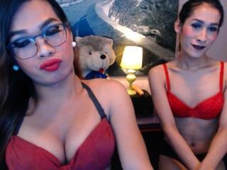 Sexet profilfoto af model WeLoveToCum, til meget hot live show webcam!