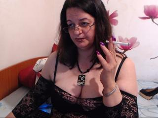 Picture of the sexy profile of WildyMature, for a very hot webcam live show !