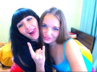 NikaXRysa - Webcam hard with a shaved genital area Woman that love other woman