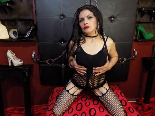 NaugtthyAssForU - Video chat exciting with this shaved vagina Dominatrix
